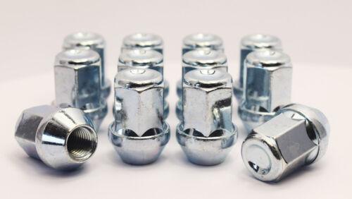 zinco 12 x m12 x 1.5 19mm Hex Alloy Dadi Delle Ruote