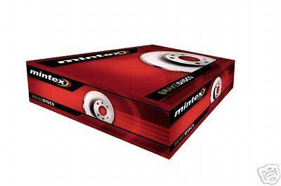 CITROEN BERLINGO 98-07 MINTEX FRONT  BRAKE DISCS  266MM