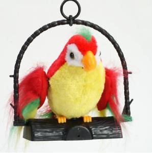 Talking Back Parrot Talking Parrot Repeats Imitates Your Voice Prank Funny Joke