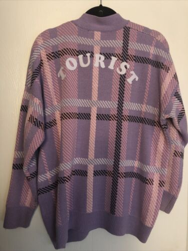 Authentic Lazy Oaf Tourist Cardigan Sweater