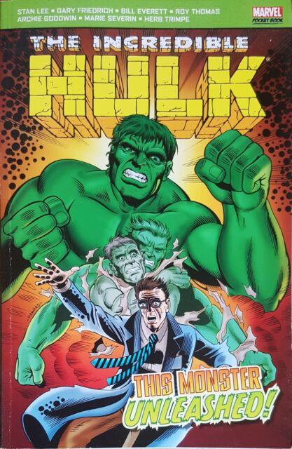 Hulk Marvel Pocket Book The Monster Unleashed