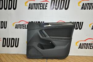 VW-Tiguan-2-AD-Tuerverkleidung-Stoff-Verkleidung-vorne-rechts-VR-Schwarz-1