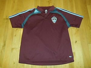 best sneakers 6a606 13717 Details about Adidas COLORADO RAPIDS MLS Soccer Jersey Kit Polo Shirt MENS  XL Climalite Coach