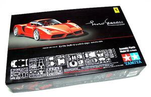 Tamiya Kit voiture en plastique 1:24 Ferrari Enzo Rosso Corsa New Art 24302