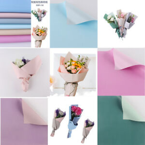 10pcs24x24diy wrapping paper flower bouquet craft paper gift image is loading 10pcs24 039 039 x24 039 039 diy wrapping mightylinksfo