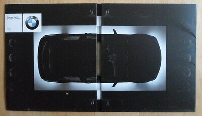 316ti 325 ti BMW 3 Series Compact 2001 UK Market brochure prospekt