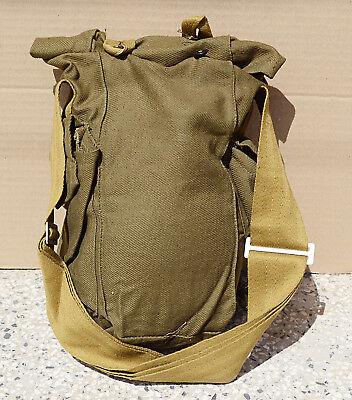Old  Canvas Bag  Vintage Military Canvas Bag  Old Army Bag   USSR Bag  Large  Crossbody Canvas  Bag   Vintage Military Messenger Bag
