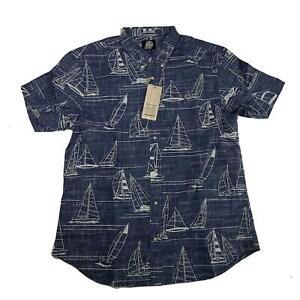Reyn Spooner Mens Hawaiian Shirt Size XXL Newport 2 Honolulu Tailored Fit New