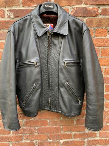 Vintage Schott 680 Leather Jacket Size 46