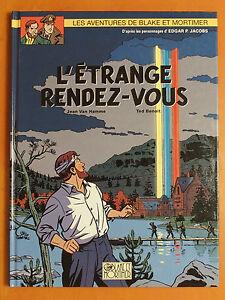 Les-aventures-de-Blake-amp-Mortmer-L-039-etrange-rendez-vous-Jean-Van-Hamme-Ted-Benoit