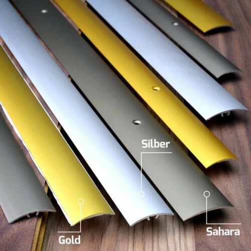 Aluminium Profil einfache Montage Schrauben Dübel Gold Silber Sahara 200 250 cm