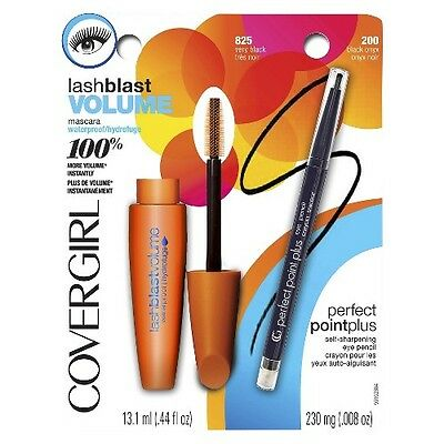 COVERGIRL LashBlast Volume Mascara & Perfect Point Plus Eyeliner Value Pack
