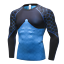 Mens Compression Shirt Cool Dry Base layer Sports Workout Tight Top Long Sleeves