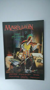 Marillion-Script-for-a-Jesters-Tear-vintage-music-postcard-CARD