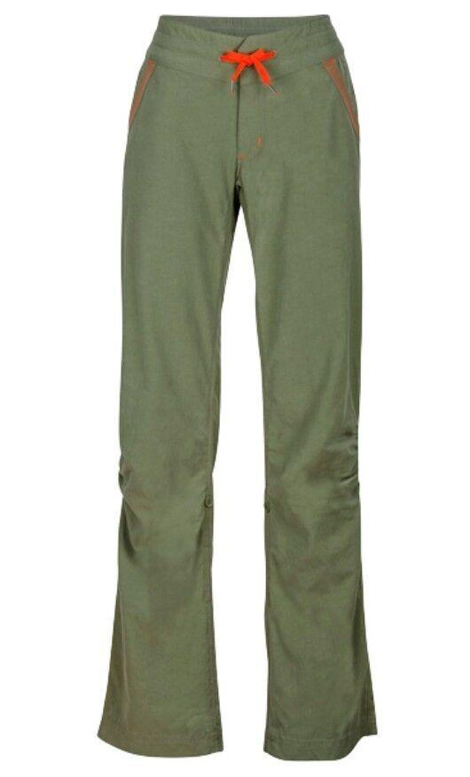 Marmot Leah Pant Women's, Climbing Pants for Ladies, Stone Green