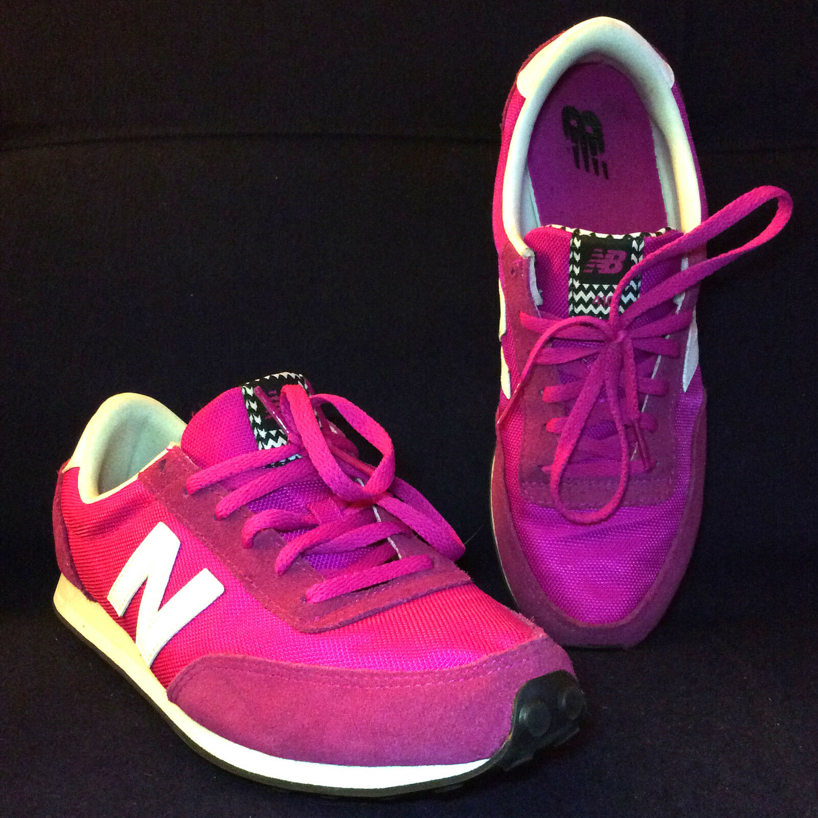 New Balance Turnschuhe Rosa Größe 10 Magenta Weiß Athletic Gym Running schuhe NICE
