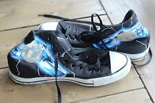 CONVERSE ALL Star Chucks Metallica Ride The Lightning LIMITED EDITION Size 8