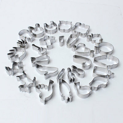 Sugar Cookie Cutters Biscuit Pastry Mould Fondant Cake Decorating Baking Mold