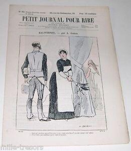Revue Illustrée PETIT JOURNAL pour RIRE N° 73 (32ème Année) Le BALLET par MARS
