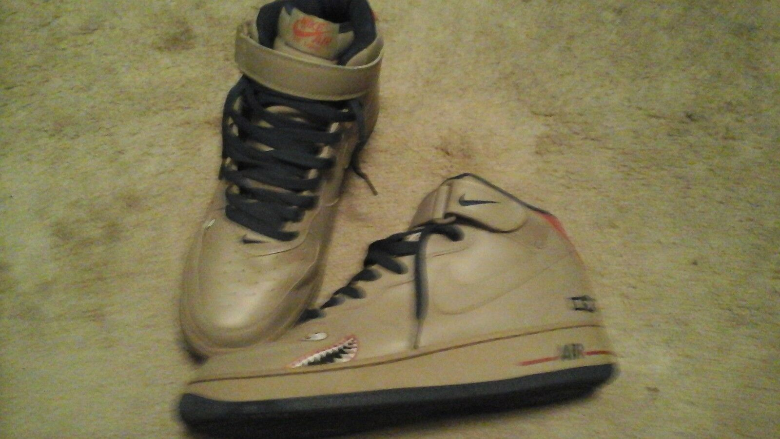 NIKE AIR FORCE 1 AIR FORCE EDITION MENS SIZE 10 RARE AF1s SEE PICS 4 DETAILS