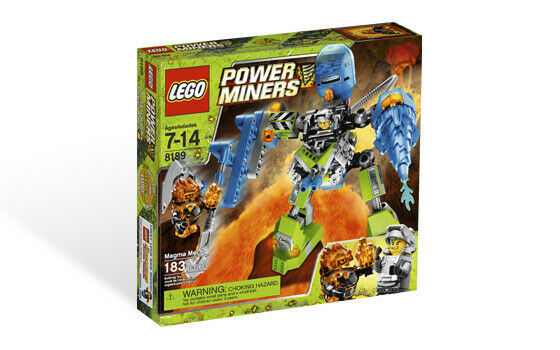 LEGO 8189 - Magma  Robot  negozio fa acquisti e vendite