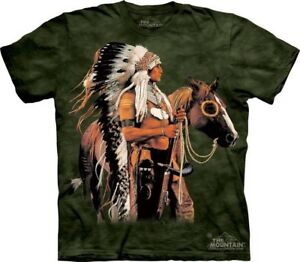 Painted-And-Proud-T-Shirt-by-The-Mountain-Horse-Native-American-Indian-S-5XL