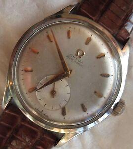 Omega-Automatic-Bumper-mens-wristwatch-steel-case-33-mm-in-diameter-cal-342