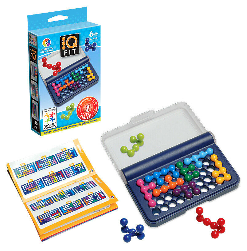Smart Games IQ Fit 3D Logic Educational Travel Game Toy Kids Brain Teaser 4