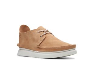 Organizar Tratamiento brandy  Clarks Men's Seven Oxfords Tan Suede Casual Shoes 26143232 | eBay