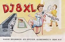 QSL-Karte Amateurfunkstation DJ8XL Speyer (DOK: K17)