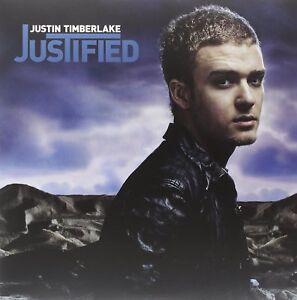 Justin Timberlake-justified 2 VINILE LP NUOVO