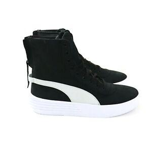 Puma XO Talla 10 Paralelo Negro Blanco Zapatos para hombres