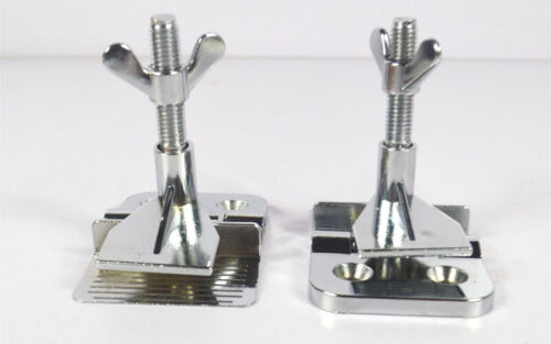 TECHTONGDA 2pcs Screen Printing Screen Frame Hinge Clamp Butterfly Clamps