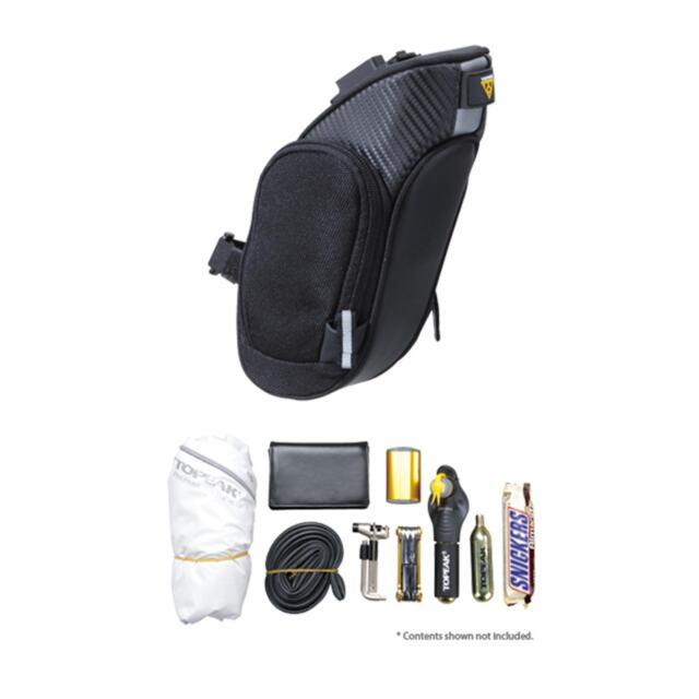 Topeak Mondo Pack Fahrrad Sattel Tasche MTB Fully Sattelstütze Rennrad +Halter