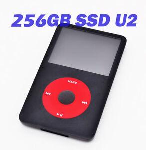 256GB-SSD-amp-2000mah-Big-Battery-Custom-U2-Upgrade-iPod-Video-5th-5-5th-Gen-80GB
