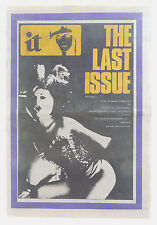 INTERNATIONAL TIMES No 124 1972 Pink Fairies Paul McCartney Nasty Tales Trial