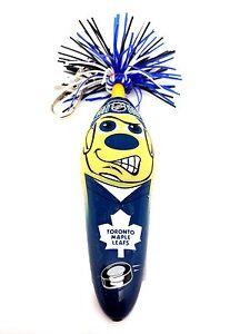 NHL Toronto Maple Leafs Kooky Klicker Kollectible Pen Key Clip Authentic Serie 1