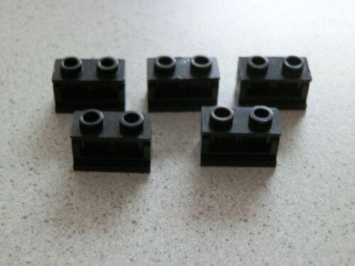 LEGO 3937 3937c01 3938 # 5x cerniera 1x2 NERO 7259 8129 7657