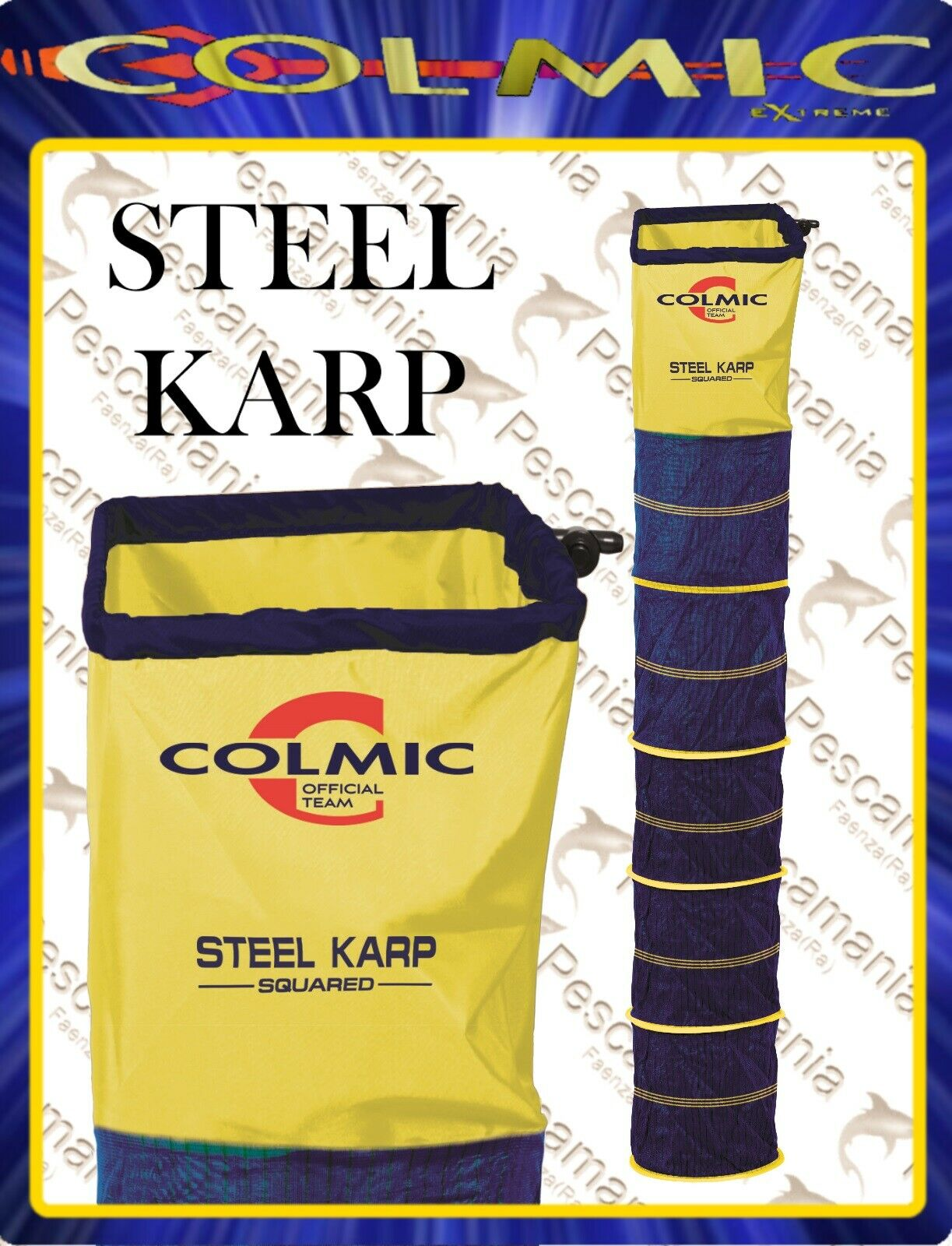 NASSA Colmic steel Karp squarot mt.2,50-3,00-3,50-4,00  | Online