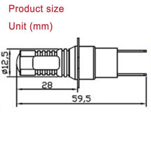 H3C high power SMD X10 6000K 50W 64146BC LED PROJECTOR LENS FOG DRL LIGHT