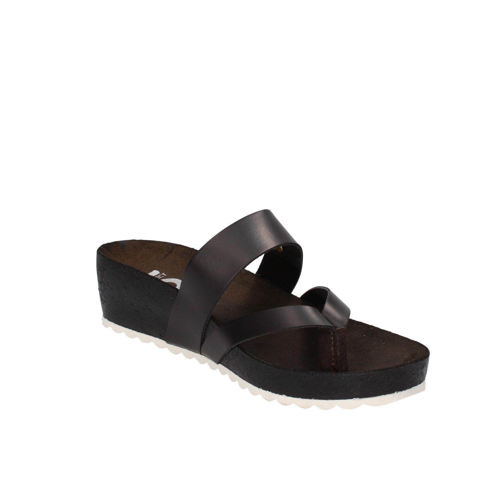 EU donna 5 PRO JECT 38 EU  sandali nero pelle AC598-D 8c9db2