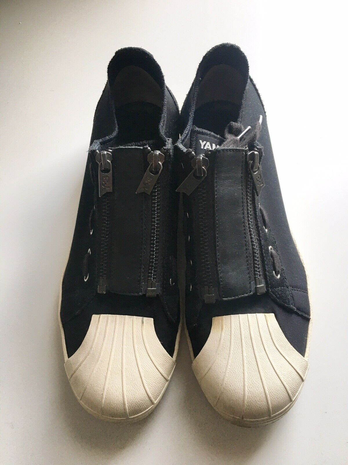 Yohji Yamamoto Y-3 Super Zip Sneaker Size 7 Mens   Womens 9