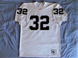 super popular da93e 01a51 Details about Mitchell Ness M&N Authentic Los Angeles Raiders Marcus Allen  Jersey s 52 2XL USA