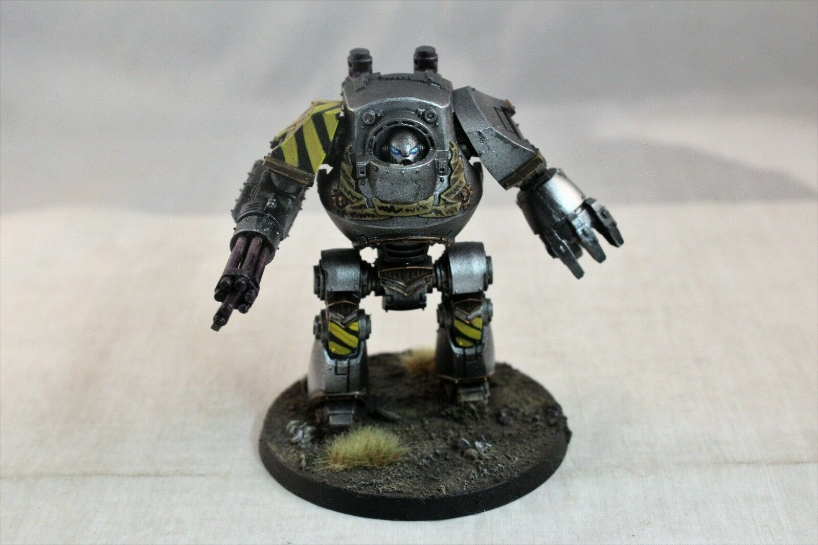 Warhammer Space Marine Iron Warriors Contemptor Dreadnought Well Painted