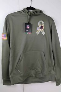 official photos bf502 d3ebd Details about Nike Hoodie Salute to Service STS Washington Redskins Size  Small New with Tags