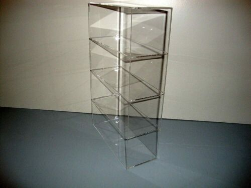"""DS-9 1//2/"""" x 4/"""" x 16/"""" WITHOUT DOOR Showcase  Acrylic Countertop Display Case"""