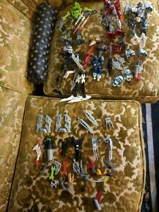 Lego-Bionicle-Lot-of-5-Figures-Collectible-Different-Characters-Mixed-Lot