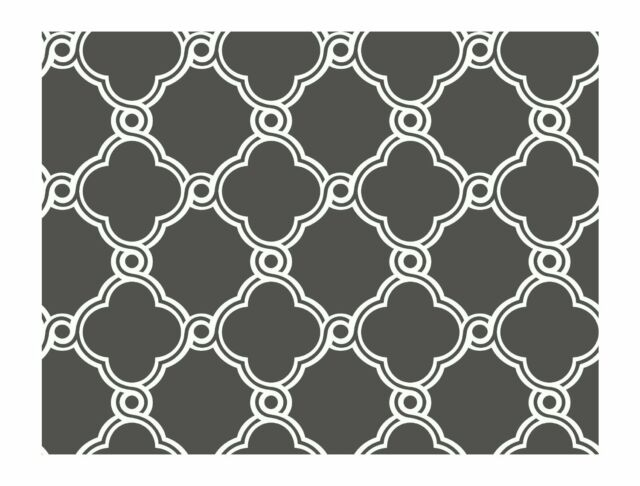 AP7490 Trellis Wallpaper Dark Grey White Diamond Contemporary Modern Wallpaper