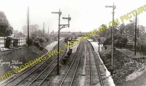 2 Cholsey /& Moulsford. Pangbourne Goring /& Streatley Railway Station Photo