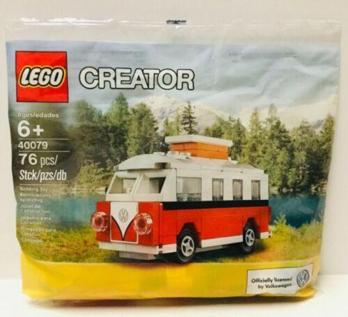 NEW Sealed Lego Creator VW Bus Polybag 76 pcs 40079